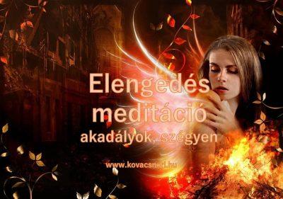 Az akadályokat és szégyenérzetet elengedő meditáció Kovács Nóri vezetésével.