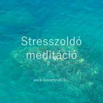 stresszoldó insta kovacsnori